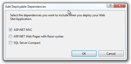 Add Deployable Dependencies