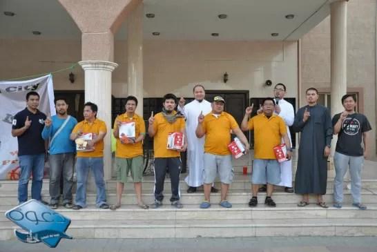 أولي بشائر شهر الخير – إسلام ستة من أفراد الجالية الفليبينية