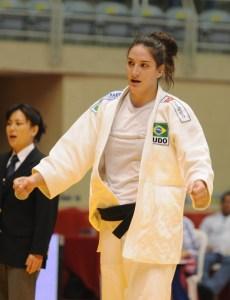 Mayra Aguiar é uma das integrantes da Seleção Brasileira no Mundial 2010 | Foto: CBJ