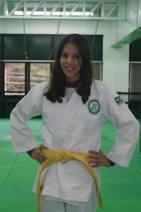 Judoca do Recreio da Juventude,         Natália Pezzi luta no Brasileiro sub-13 | Foto: Divulgação