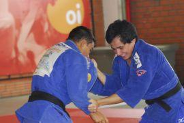 Felipe Kitadai já treina com quimono da Sogipa / Foto: Fernanda Davoglio / Divulgação Sogipa
