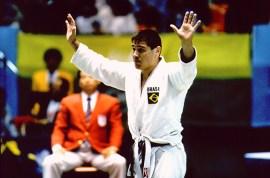 Campeão olímpico em Seul-1988, Aurélio Miguel visitará RS em março | Foto: Pedro Martinelli / Flickr Aurélio Miguel