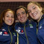 Portela, Kitadai e Mayra já estão em Toronto para os Jogos Pan-Americanos