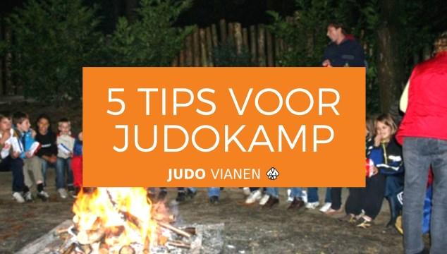 5 tips voor judokamp