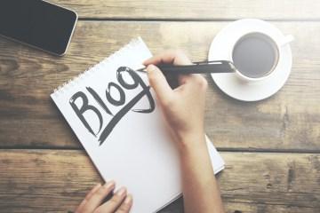 bloggen lesgeven
