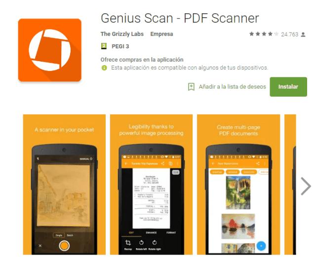 genios scan