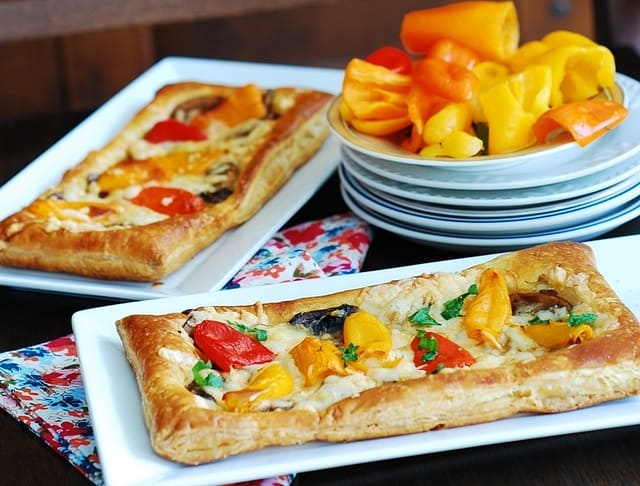 Paleo Puff Pastry Pizza