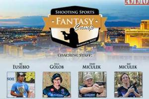 NSSF has done it... The first EVER fantasy camp for shooters and I get to teach!!! This is a travel day for me and the camp runs through the weekend. It will be AWESOME.