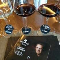 La gamme de vins