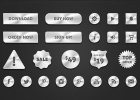 botones-plateados