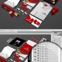 Mock Up para Colocar tu Logo en Elementos de Oficina