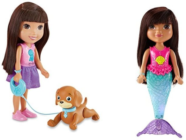 Buy a Dora and Perrito or a Sparkle and Swim Mermaid Dora Toy, Get Another Dora Toy for Free