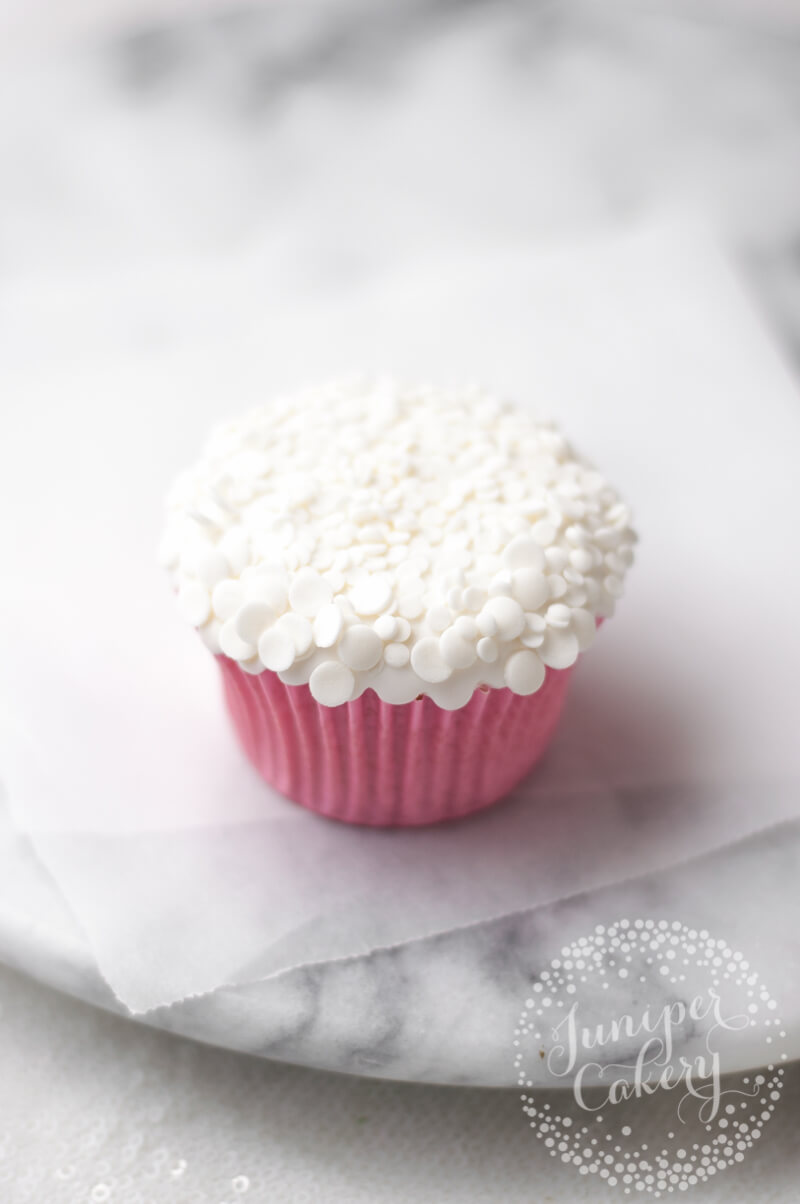 How to make a Christmas tree cupcake