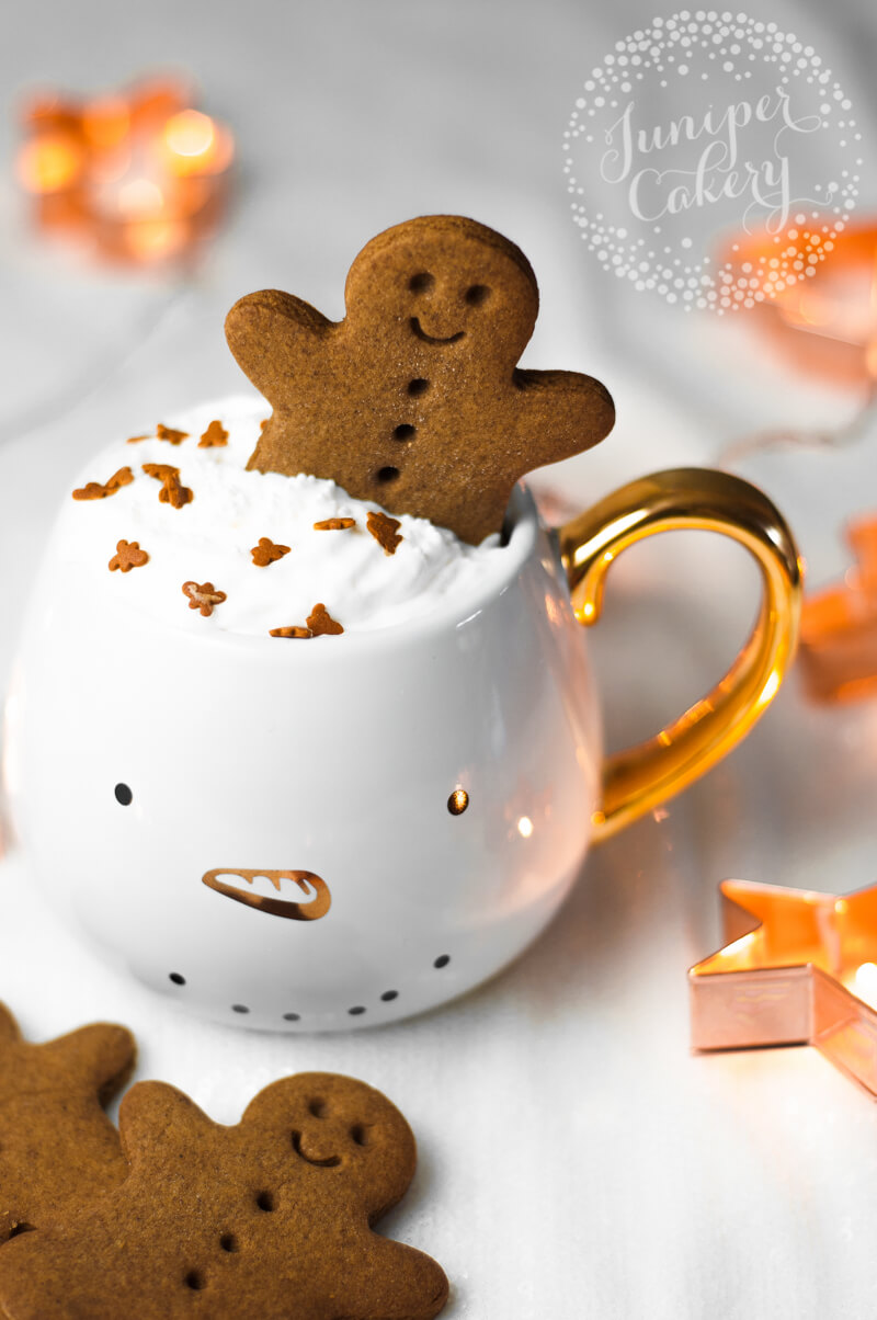 Christmas gingerbread cookie recipe by Juniper Cakery