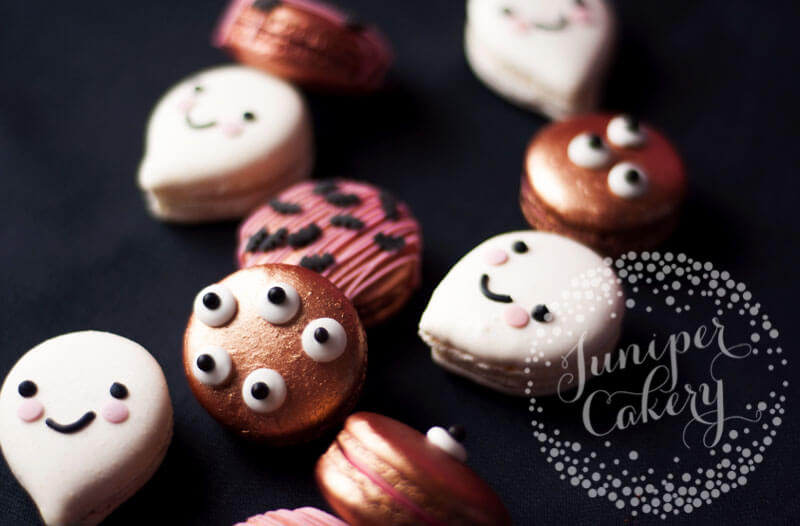 DIY candy eyes for Halloween cupcakes, cookies and treats