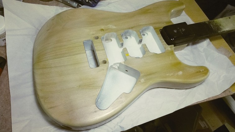 Mick Mars Style Stratocaster 07