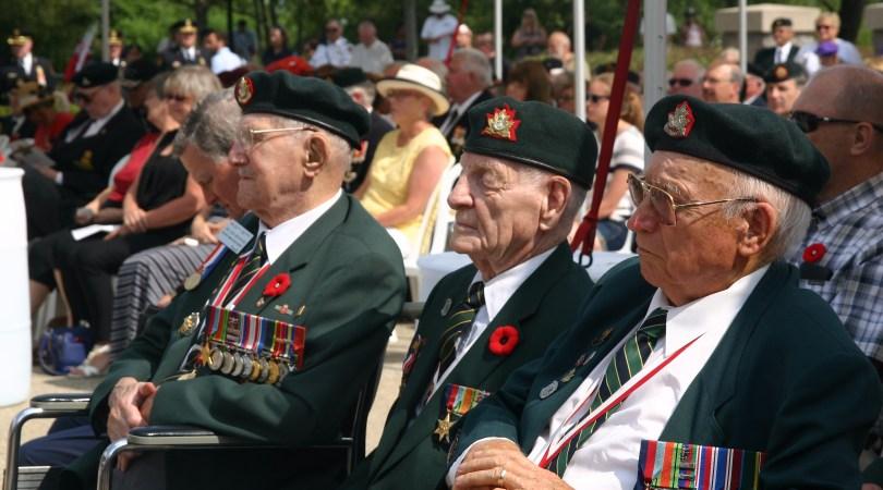 Last remaining RHLI Dieppe Veterans