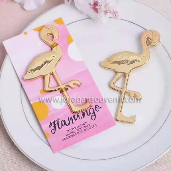 Flamingo Bottle Opener