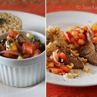 Nasi Daging Kedah & Air Asam Tomato (Kedah Beef Rice with Tomato Sour Gravy)