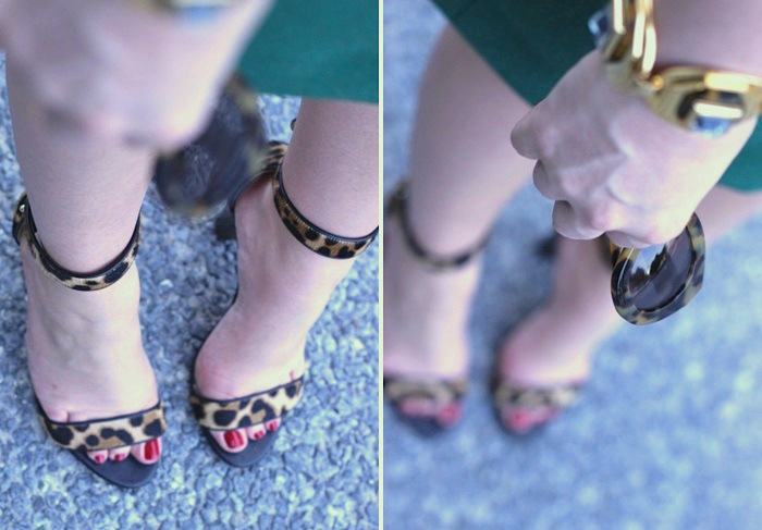 JCrew Leopard Heels