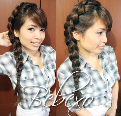 Bid Side Dutch Braid Hairstyle