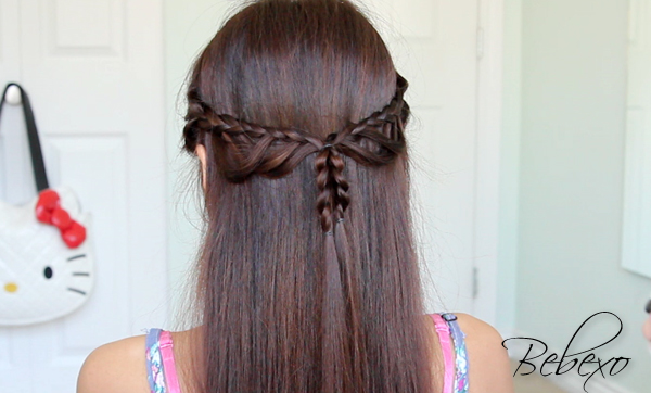 Scallop Lace Braid Hairstyle