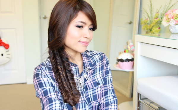 Double Fishtail Braid Tutorial by Bebexo