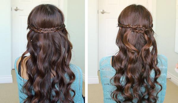 Irregular Braid Headband Hairstyle by Bebexo