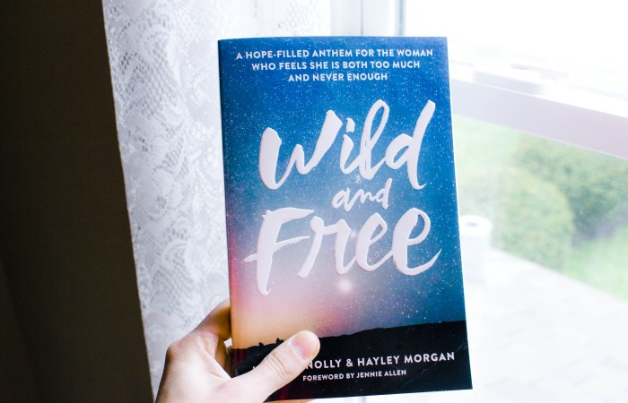 """""""Wild And Free"""" book giveaway!"""