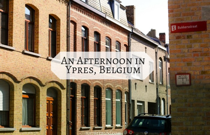 An Afternoon in Ypres, Belgium
