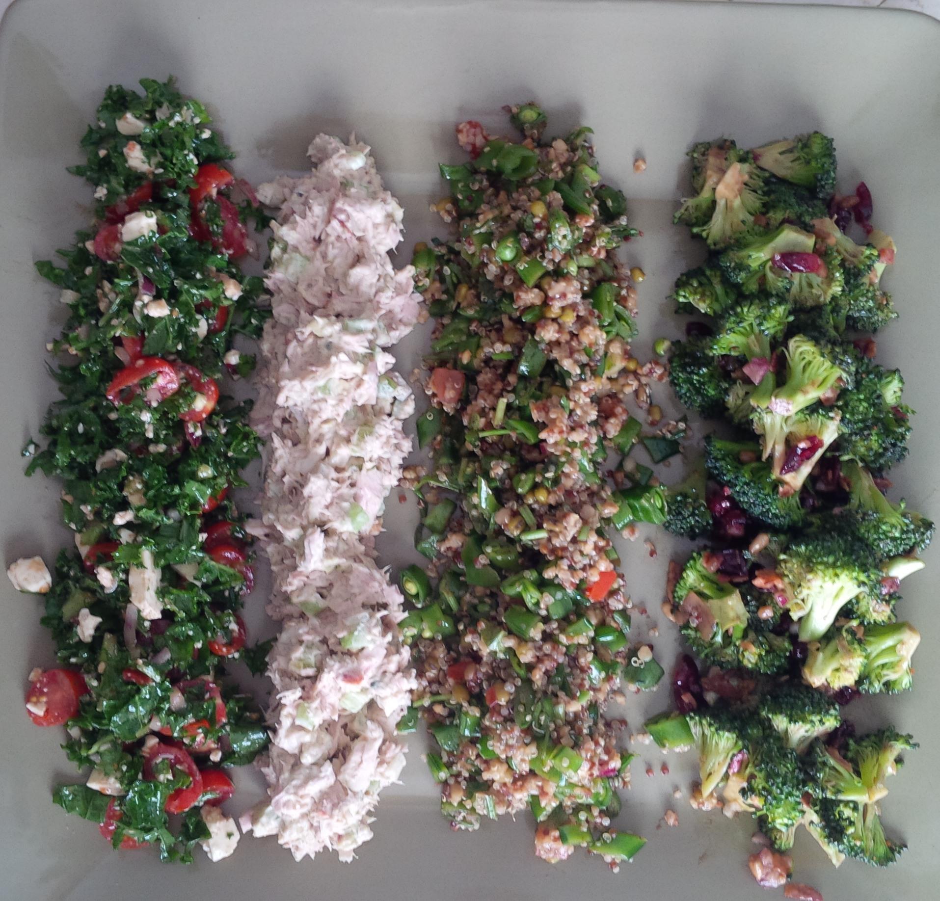 Healthy Baby Kale Greek Salad   Just Crumbs