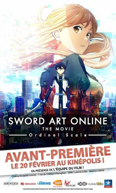 Sword Art Online : Ordinal Scale Lille