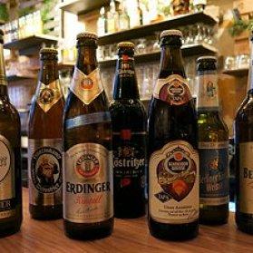 Des bières typiques allemandes