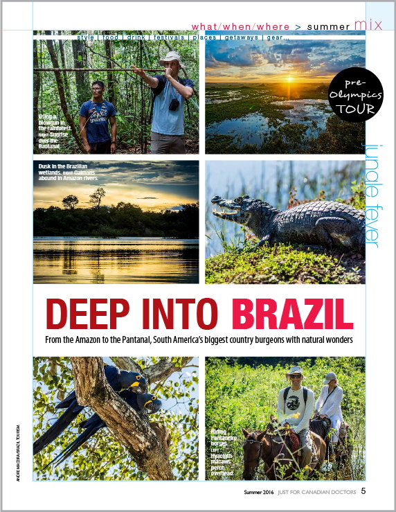 Deep Into Brazil