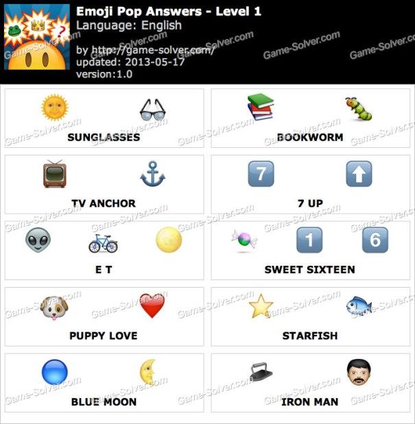 Emoji-Pop-Level-1