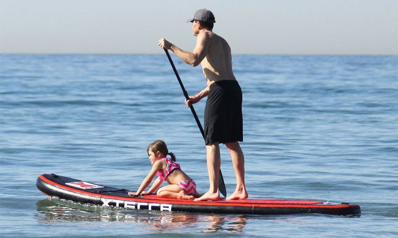 XTERRA 10′ Inflatable Stand Up Paddle Board Package Review