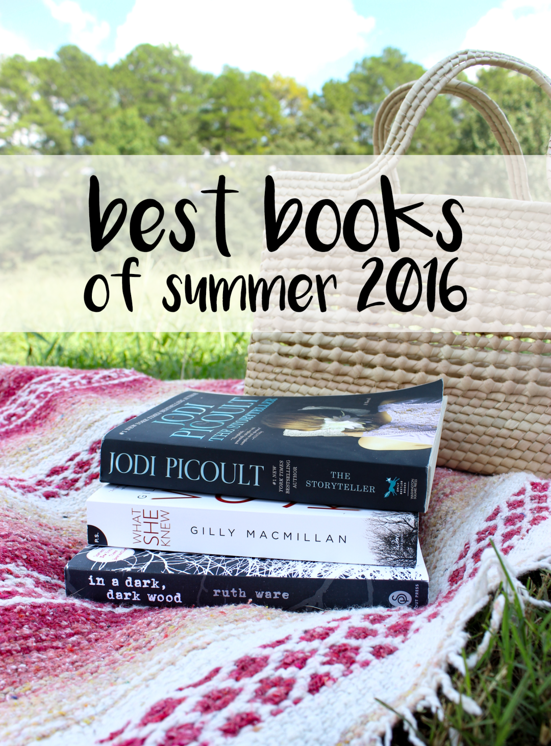 Best Books of 2016 Summer | Just Peachy Blog