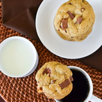 Brown Butter Chocolate Candy Surprise Cookies