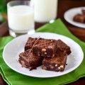 Triple Chocolate Candy Bar Cookies