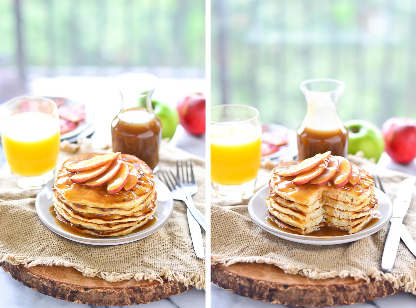 Apple Pancake Collage 3