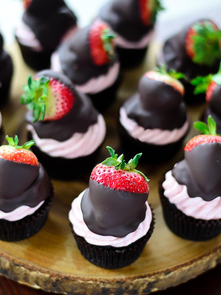 Chocolate Strawberry Cupcake 7f (1 of 1)
