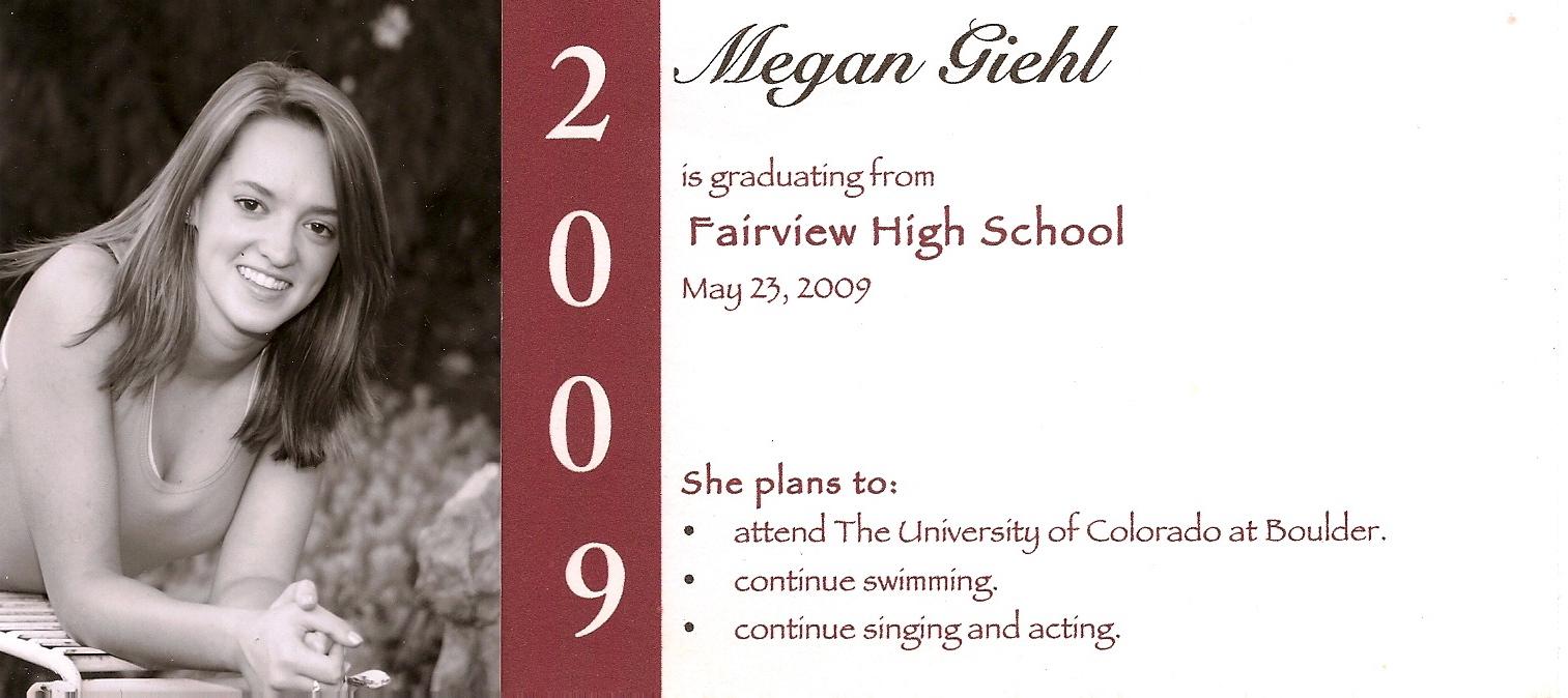 Fullsize Of Graduation Announcement Wording