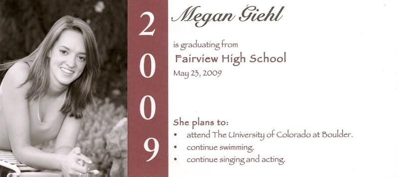 Large Of Graduation Announcement Wording