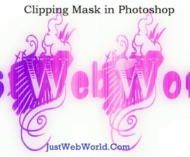 Clipping Mask Photoshop How to Create Photo filled Text in Photoshop using Clipping Mask