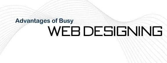 Web Designing The Advantages of a Busy Web Design