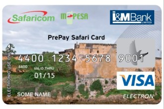 I&M MPESA PREPAY SAFARI CARD JUUCHINI
