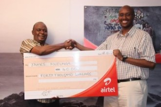 AIRTEL PROMOTION REWARDS 48 CUSTOMERS JUUCHINI