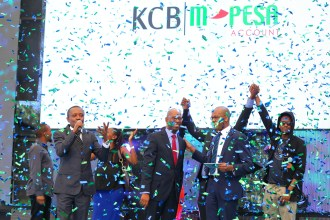 KCB AND SAFARICOM LAUNCH JOINT M-PESA ACCOUNT