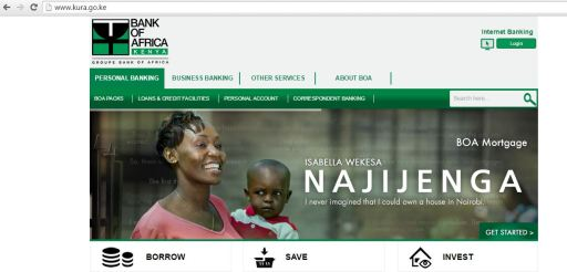 Kenya Urban Roads Authority Website Hacked Redirects To Bank Of Africa Kenya Website JUUCHINI