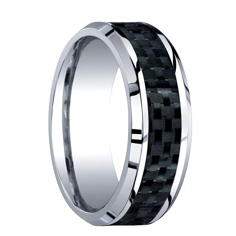 Mens chrome wedding rings